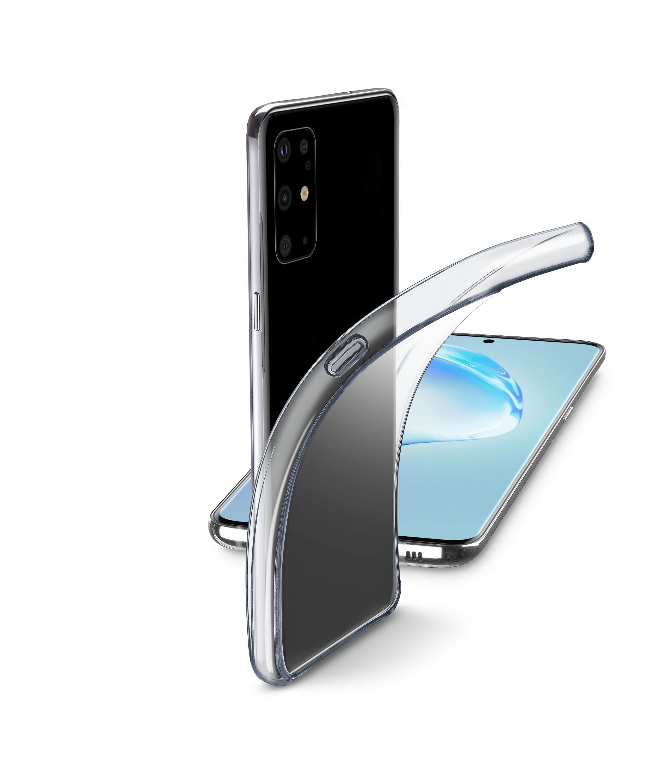 Extratenký zadní kryt Cellularline Fine pro Samsung Galaxy S20+, bezbarvý
