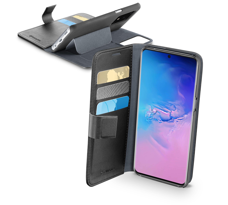 Pouzdro typu kniha Cellularline Book Agenda pro Samsung Galaxy S20 Ultra, černé