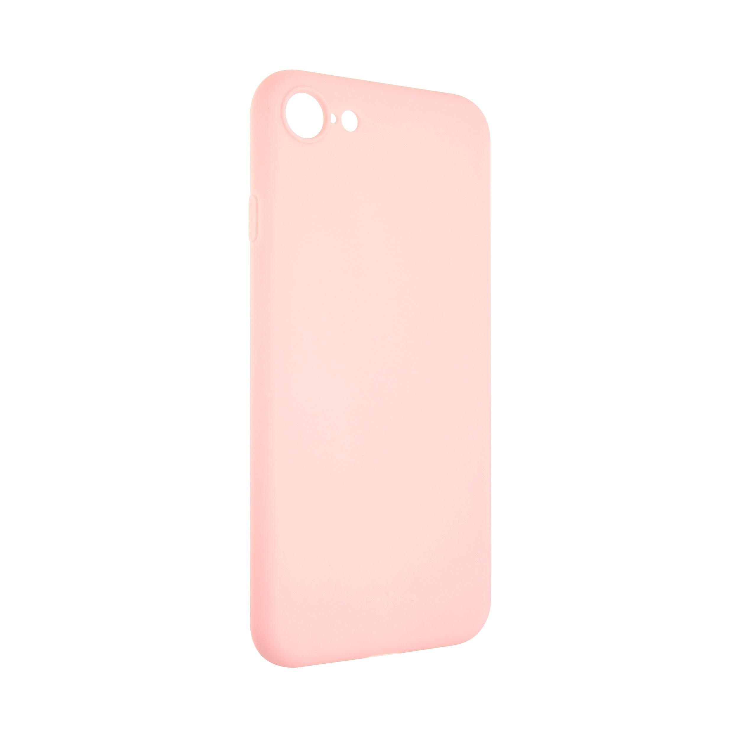 Zadní pogumovaný kryt FIXED Story pro Apple iPhone 7/8/SE (2020), růžový