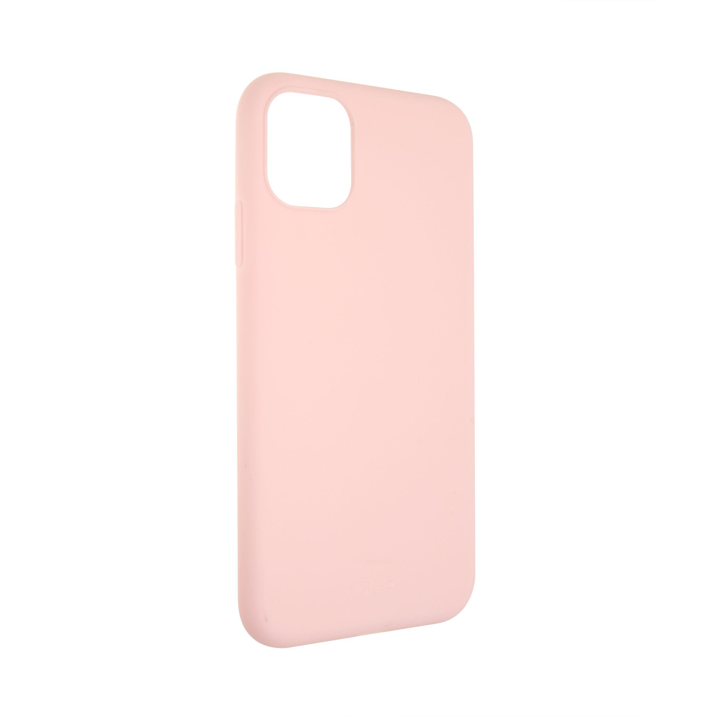 Zadní pogumovaný kryt FIXED Story pro Apple iPhone 11, růžový