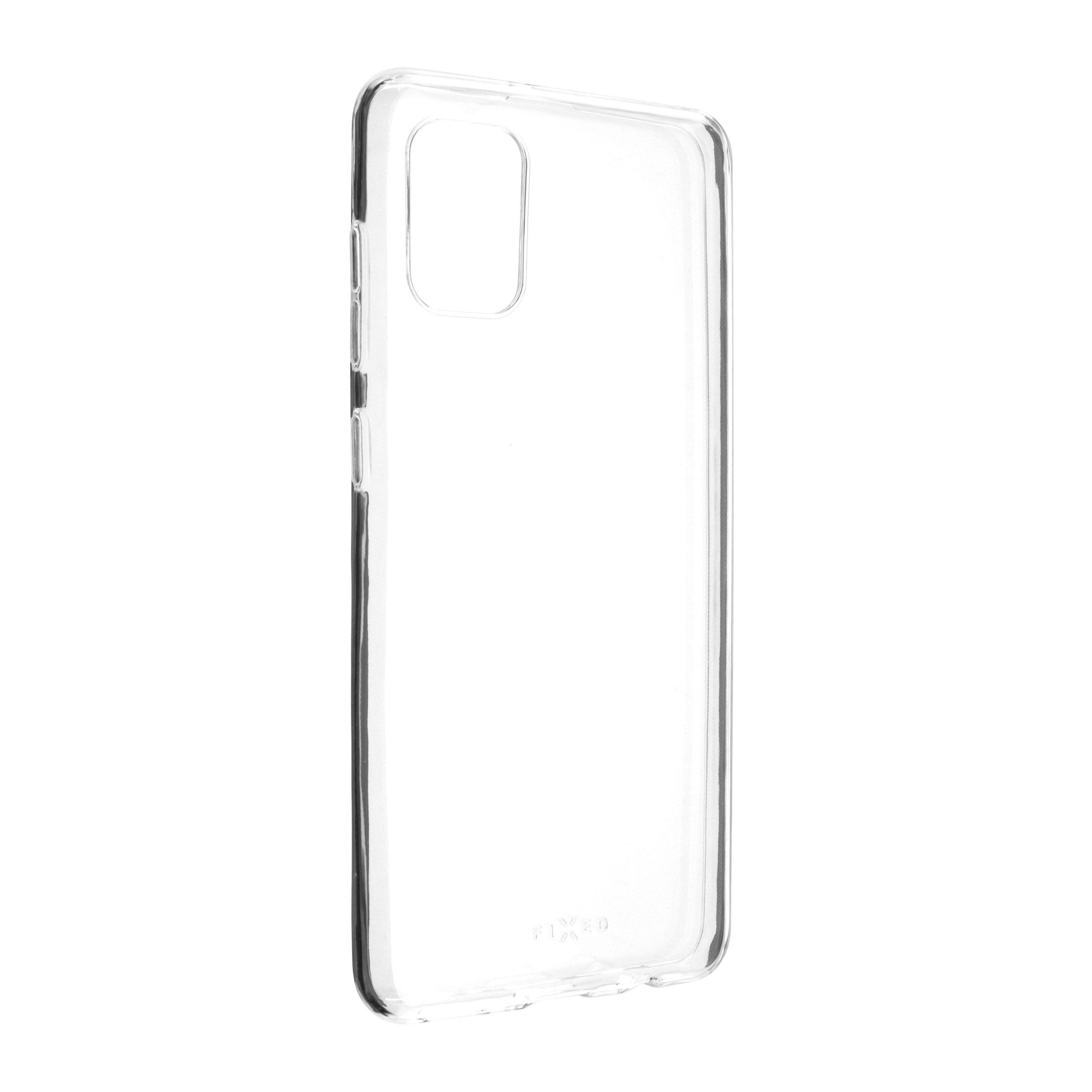 TPU gelové pouzdro FIXED pro Samsung Galaxy A31, čiré