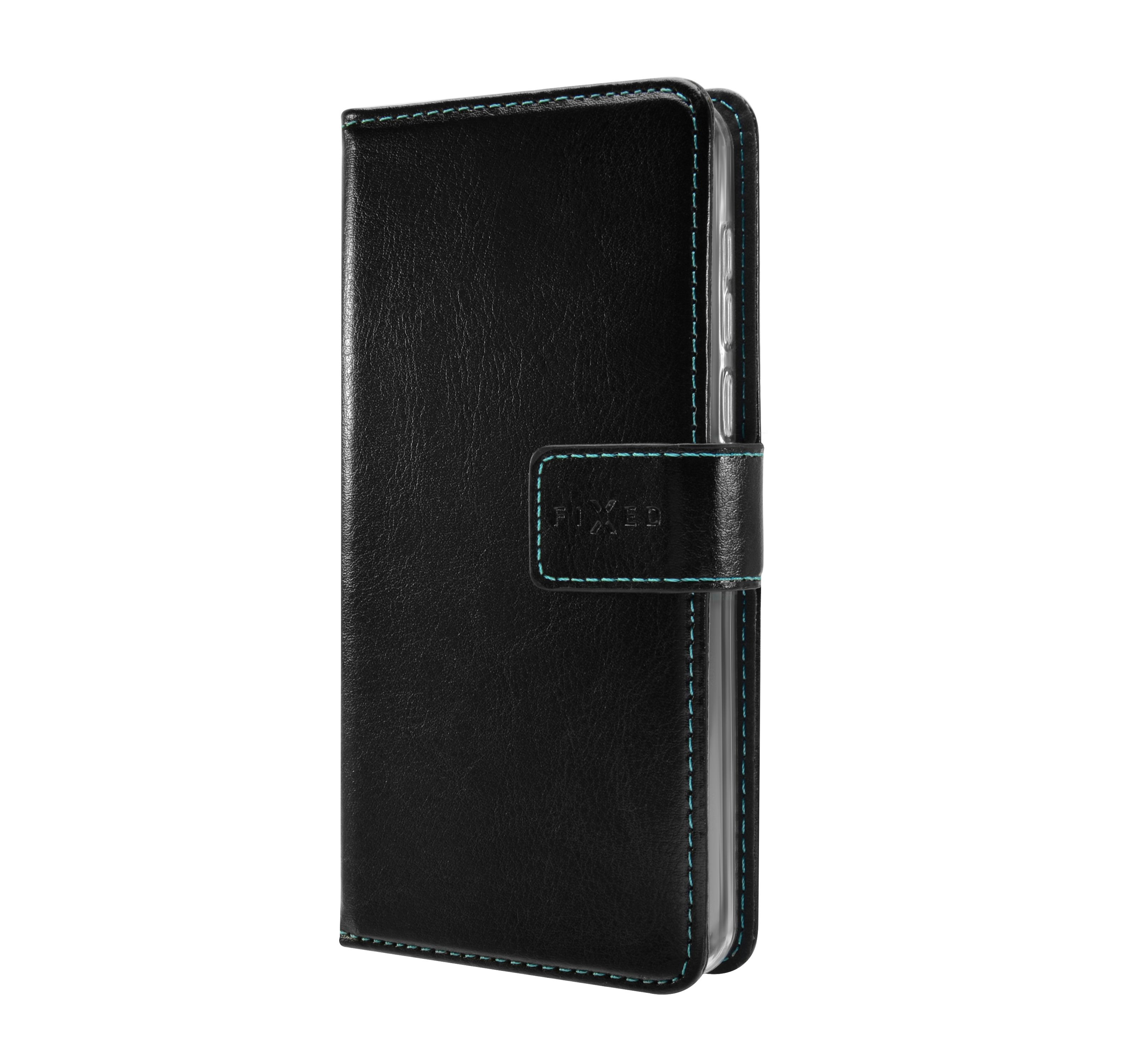 Pouzdro typu kniha FIXED Opus pro Redmi Note 9 Pro/9 Pro Max/Note 9S, černé