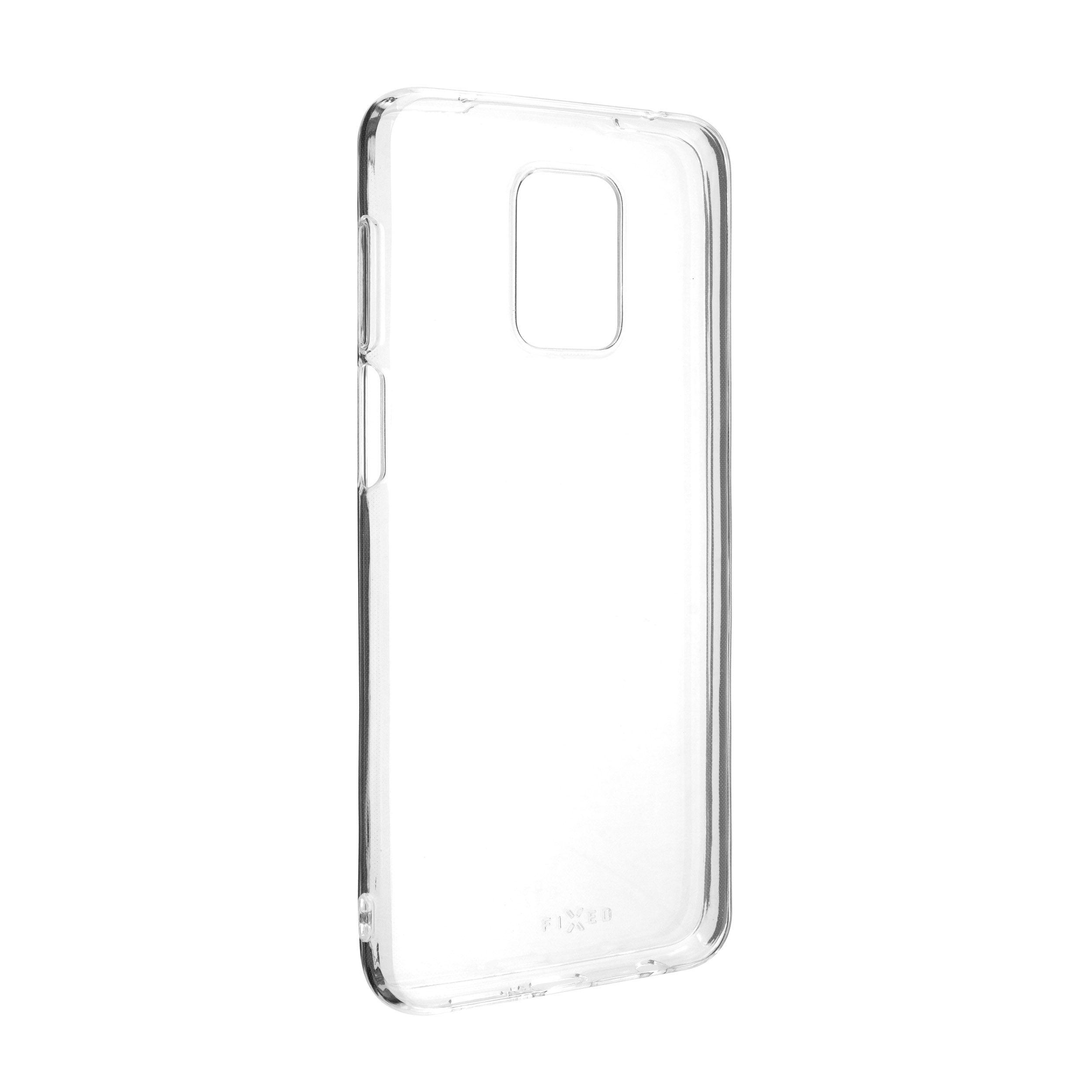 TPU gelové pouzdro FIXED pro Redmi Note 9 Pro/9 Pro Max/Note 9S, čiré