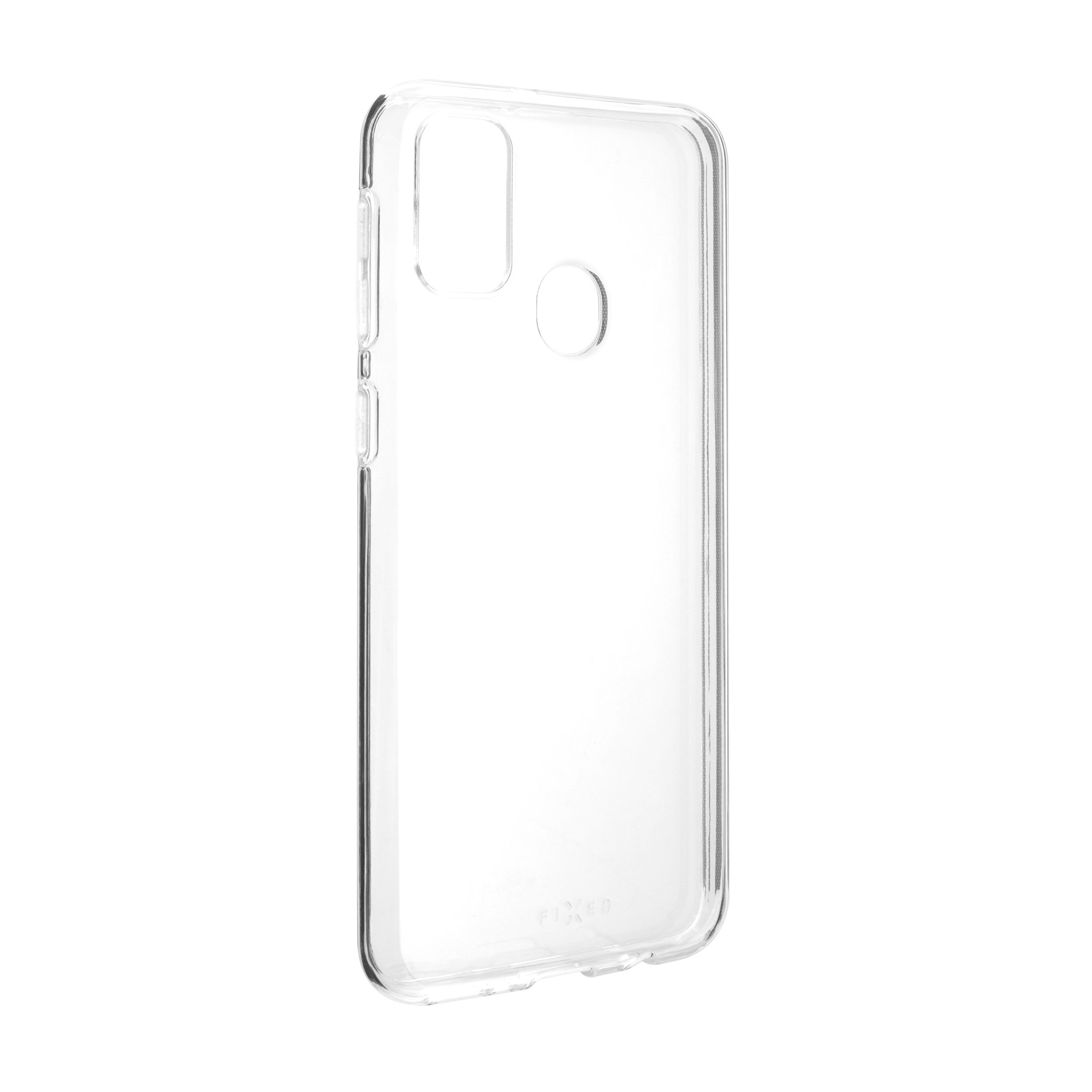 TPU gelové pouzdro FIXED pro Samsung Galaxy M21, čiré