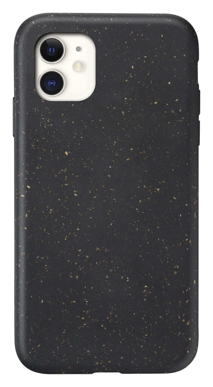 Kompostovatelný eko kryt Cellularline Become pro Apple iPhone 11, černý