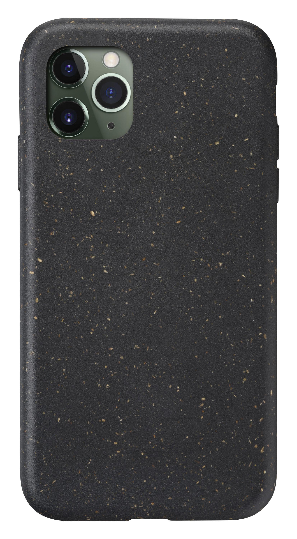 Kompostovatelný eko kryt Cellularline Become pro Apple iPhone 11 Pro, černý