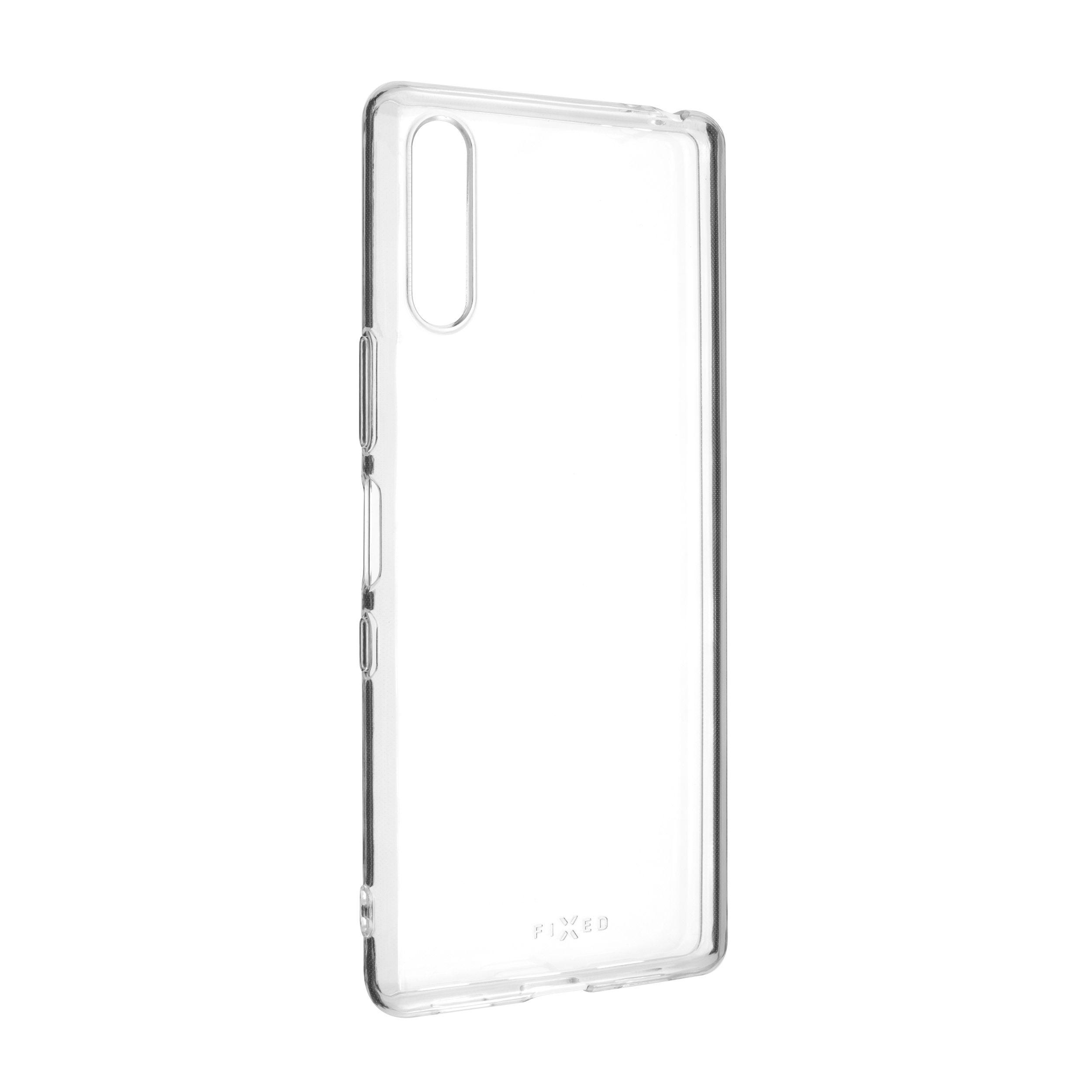 Ultratenké TPU gelové pouzdro FIXED Skin pro Sony Xperia L4, 0,6 mm, čiré