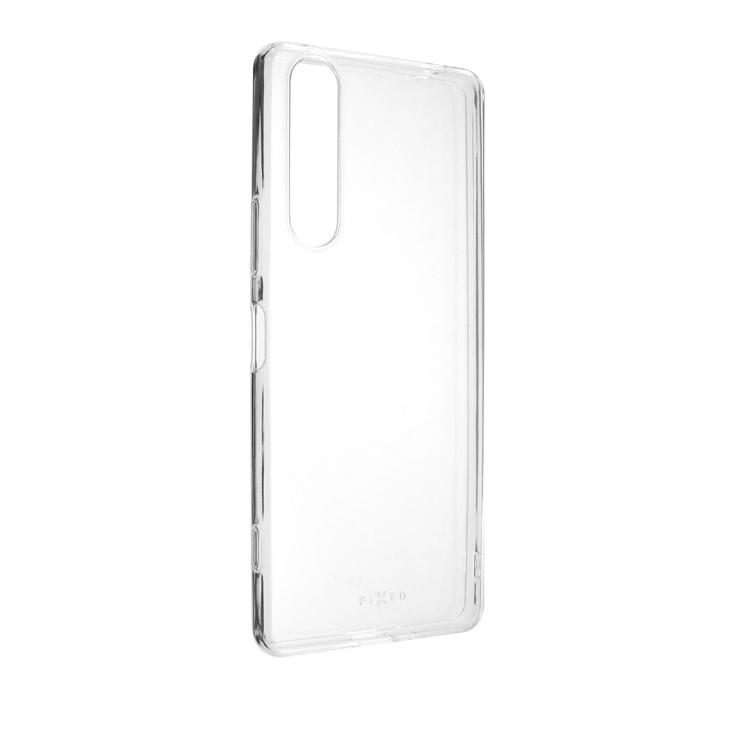 Ultratenké TPU gelové pouzdro FIXED Skin pro Sony Xperia 1 II, 0,6 mm, čiré