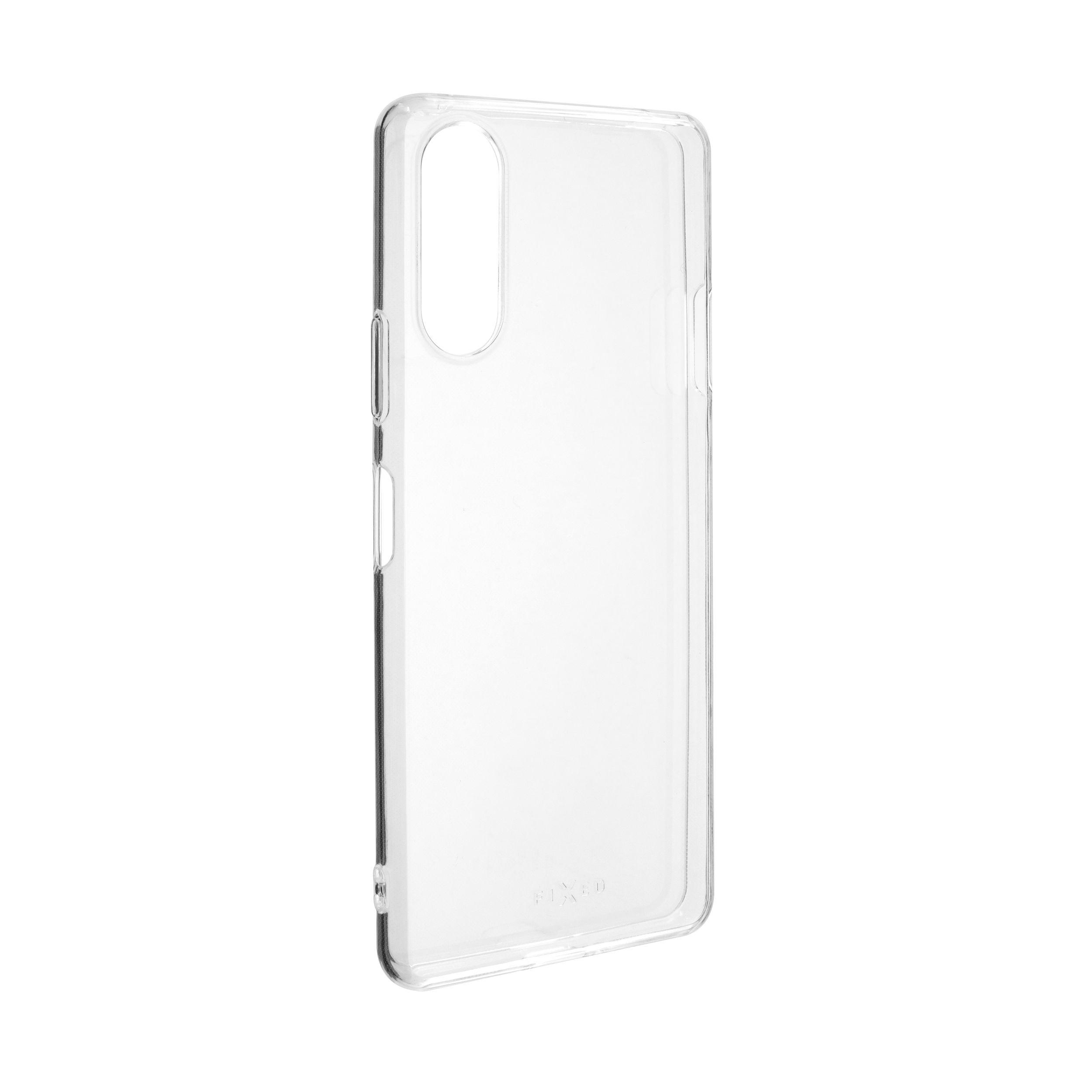 Ultratenké TPU gelové pouzdro FIXED Skin pro Sony Xperia 10 II, 0,6 mm, čiré