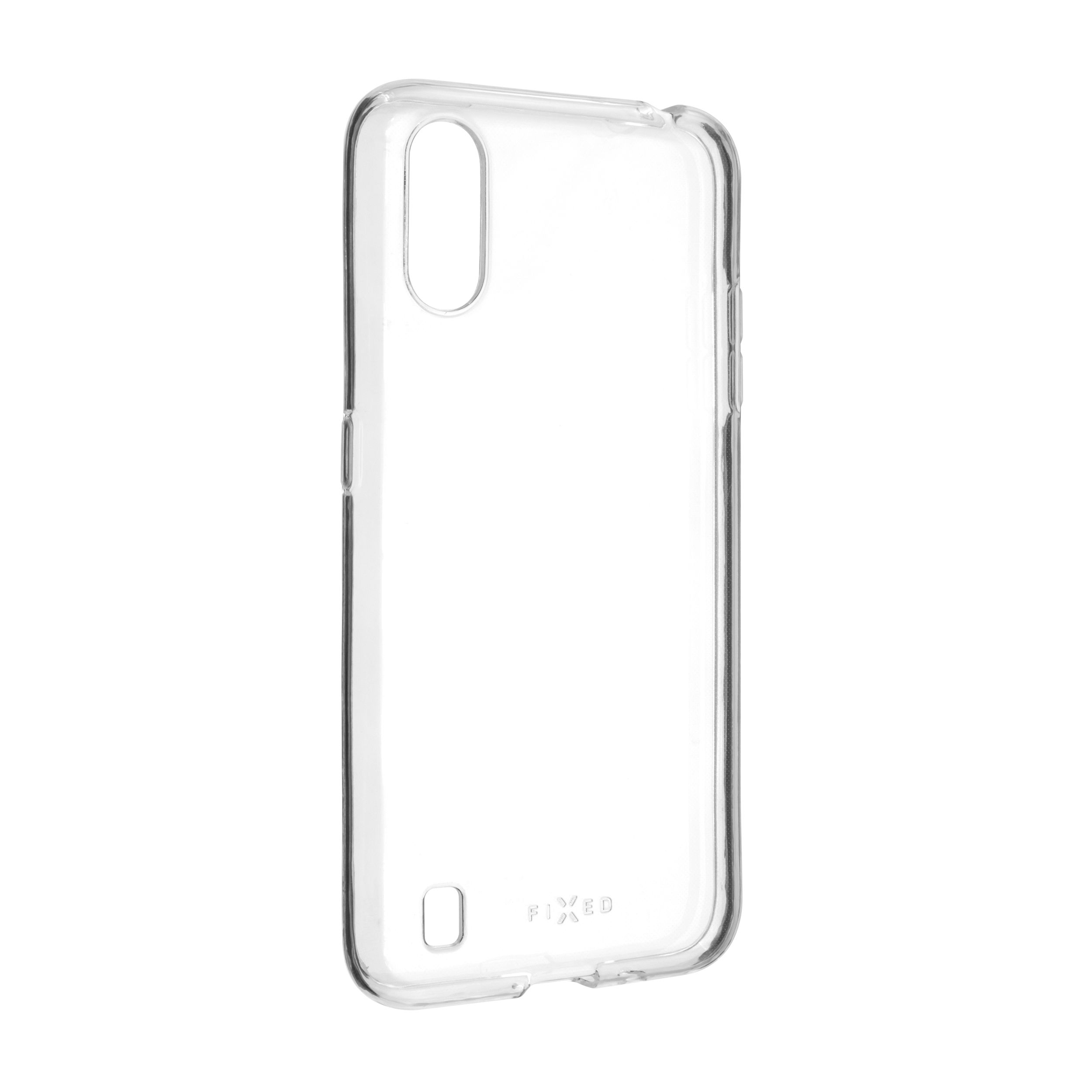 TPU gelové pouzdro FIXED pro Samsung Galaxy A01, čiré