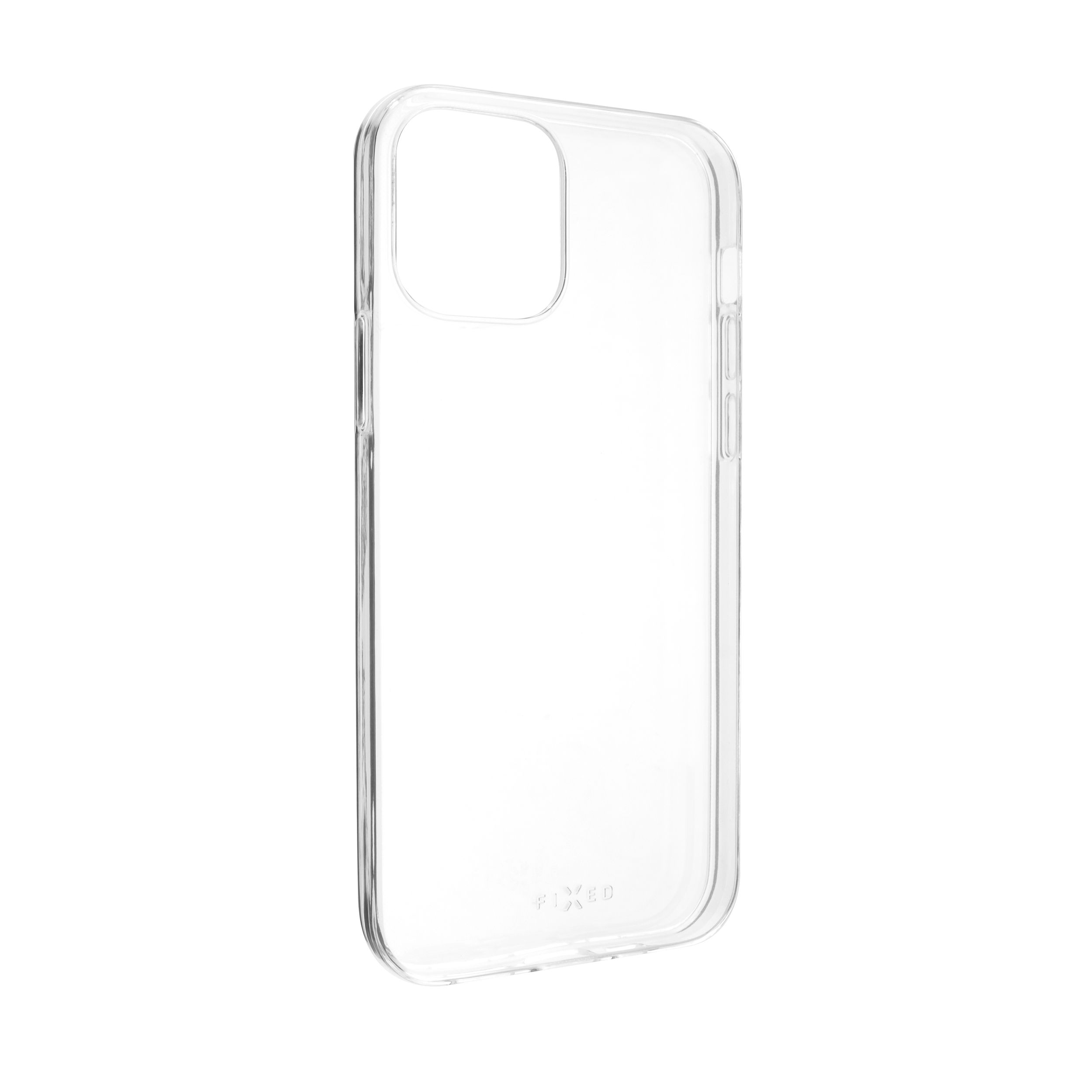 Ultratenké TPU gelové pouzdro FIXED Skin pro Apple iPhone 12 Max/12 Pro, 0,6 mm, čiré