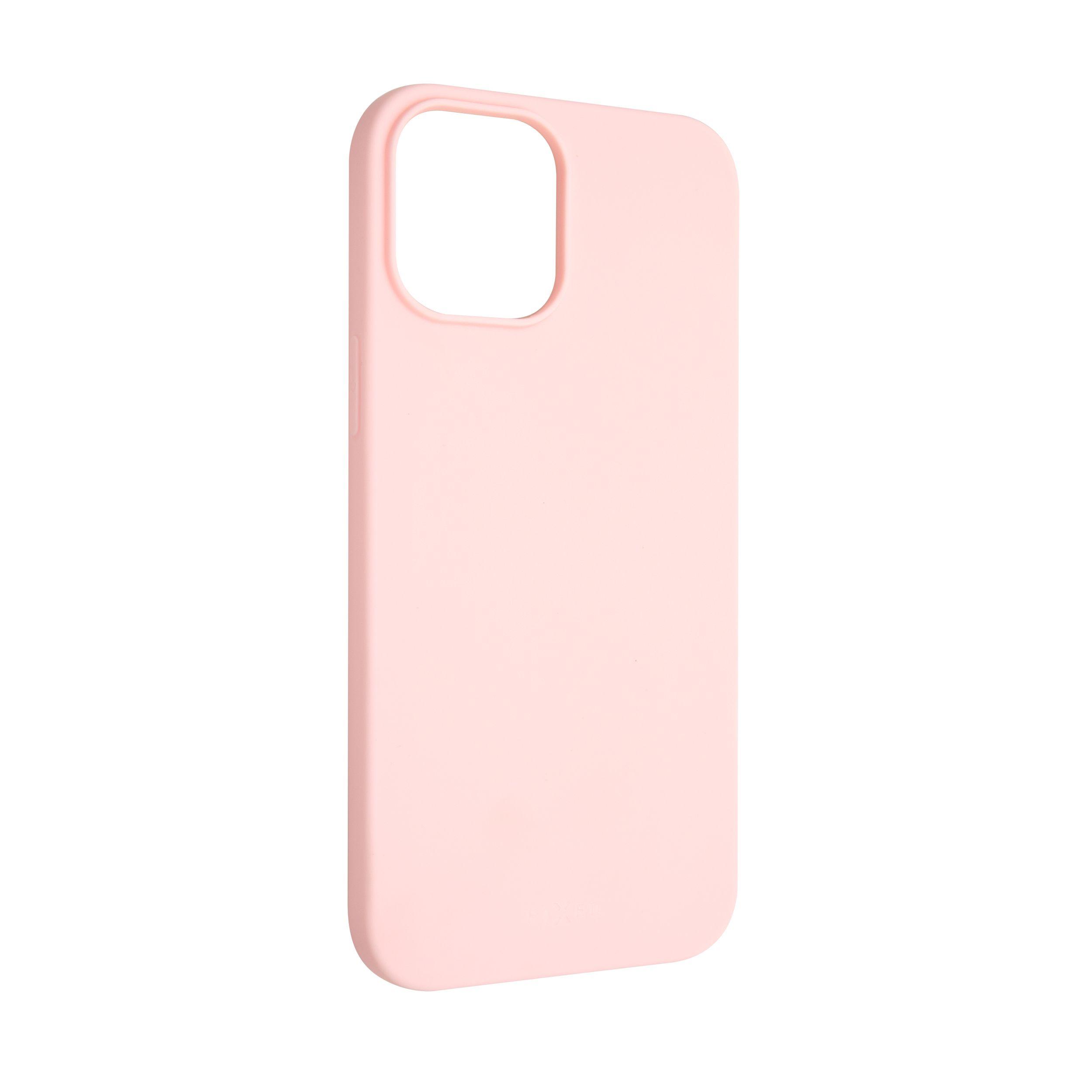 Zadní pogumovaný kryt FIXED Story pro Apple iPhone 12 Pro Max, růžový