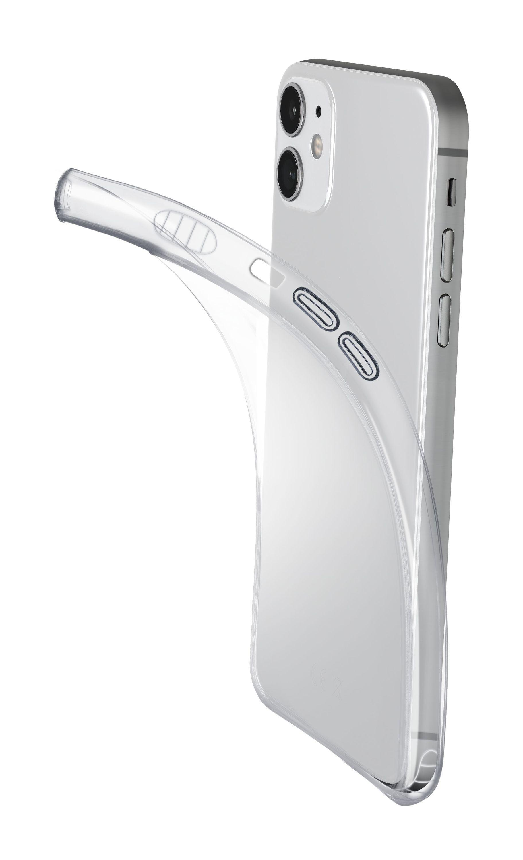 Extratenký zadní kryt Cellularline Fine pro Apple iPhone 12 mini, transparentní