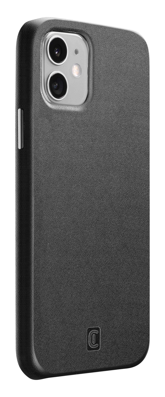 Ochranný kryt Cellularline Elite pro Apple iPhone 12 mini, PU kůže, černý