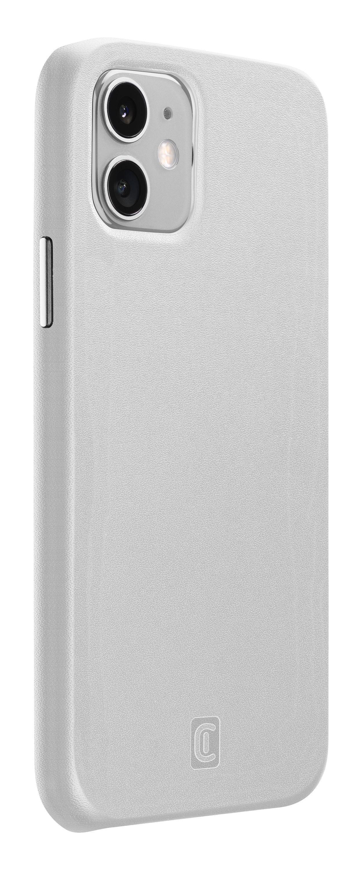 Ochranný kryt Cellularline Elite pro Apple iPhone 12 mini, PU kůže, bílý