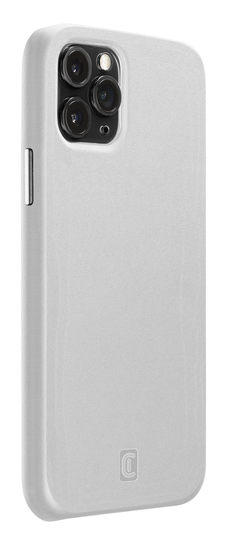 Ochranný kryt Cellularline Elite pro Apple iPhone 12/12 Pro, PU kůže, bílý