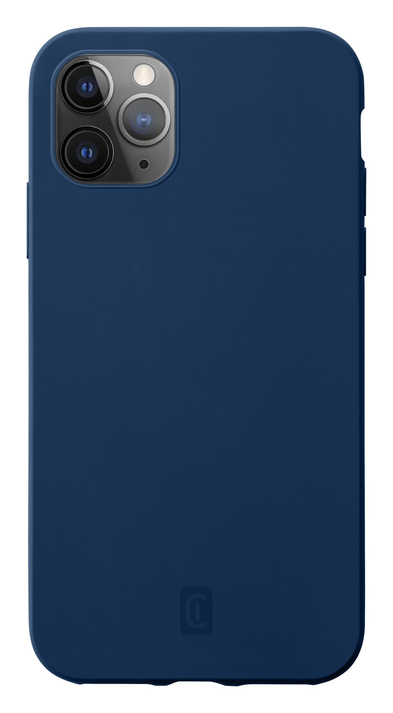 Ochranný silikonový kryt Cellularline Sensation pro Apple iPhone 12/12 Pro, modrý