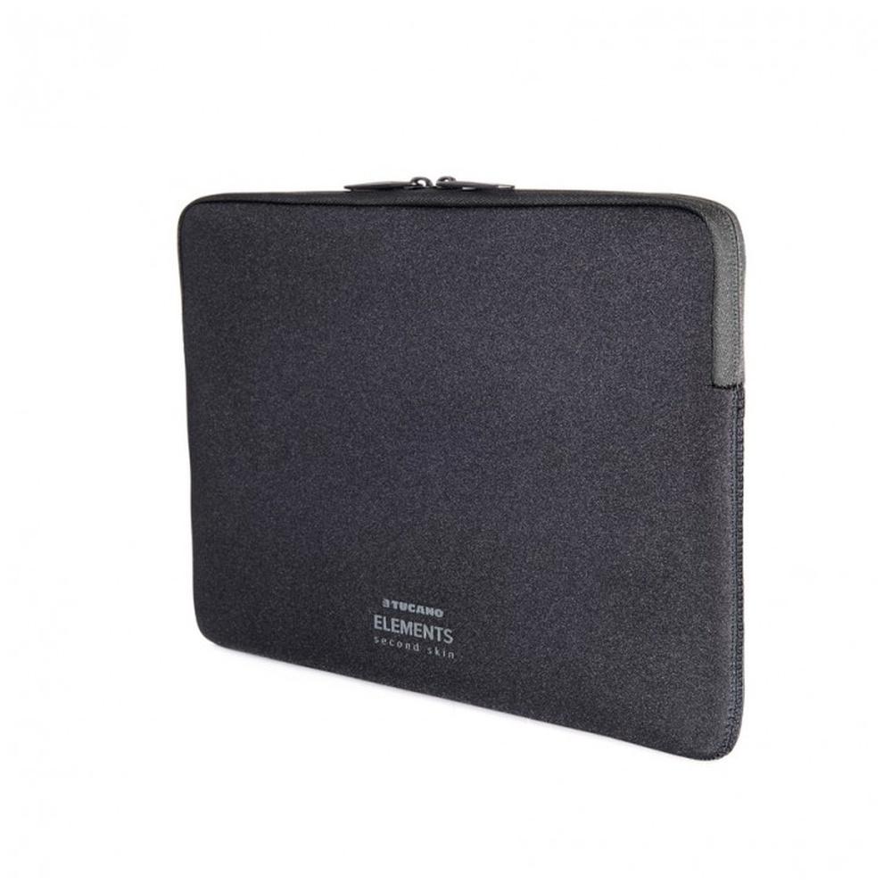"Neoprenový obal TUCANO ELEMENTS SECOND SKIN pro MacBook 12"", Anti-Slip Systém®, černý"