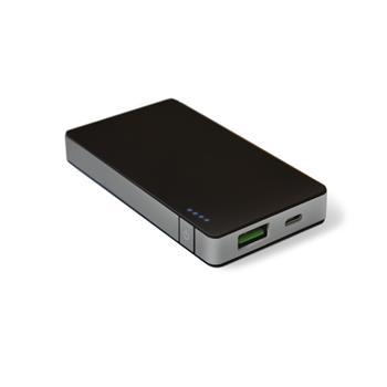 Powerbanka CELLY s USB výstupem, 4000 mAh, 1.5 A, stříbrná