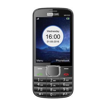 Mobilní telefon Maxcom Classic MM320, černý