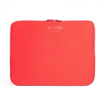 "Neoprene wrap TUCANO COLORE for laptops and ultrabooks to 15.6""Anti-Slip System®, red"
