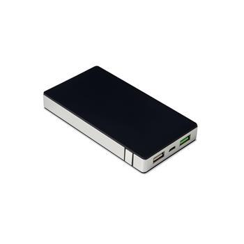 Powerbanka CELLY s 2 x USB výstupem, 6000 mAh, 2.4 A, stříbrná