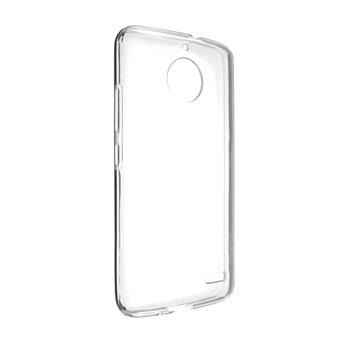 TPU gel case FIXED for Motorola Moto E4, clear