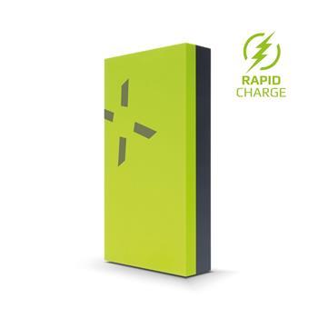 Powerbanka FIXED Zen Power 12 000 v kompaktním provedení, 12 000 mAh, limetková