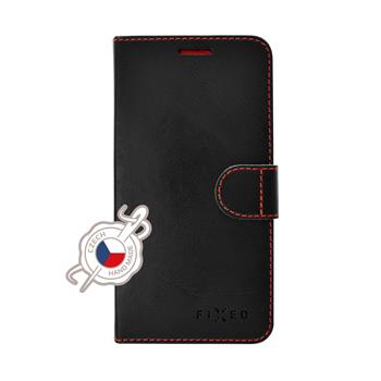 FIXED FIT Book Case for Lenovo K8, Black