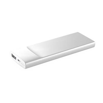 Ultratenká powerbanka CellularLine FREEPOWER Slim, 3600mAh, bílá,rozbaleno