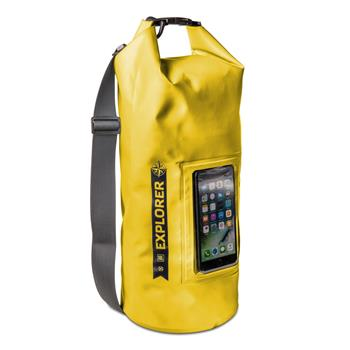 "udio CELLY Explorer 10L bag with pocket for phone up to 6.2 "", yellow"