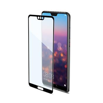 CELLY Full Glass Tempered Clay Glass for Huawei P20 Pro, Black