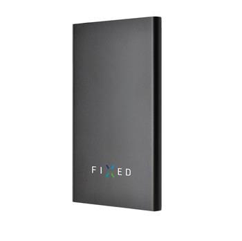 Powerbanka FIXED Zen 5000 v luxusním hliníkovém provedení, černá, rozbaleno