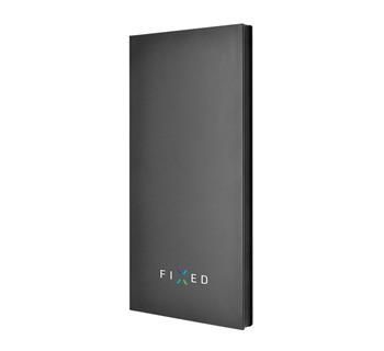 Powerbanka FIXED Zen 8000 v luxusním hliníkovém provedení, černá, rozbaleno