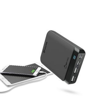 Prémiová powerbanka CellularLine PowerUp s Usb-C, 10000 mAh, černá