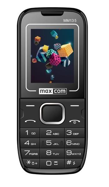 Mobilní telefon Maxcom MM134, černý