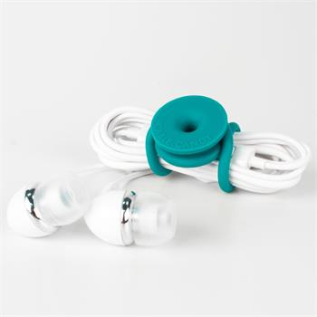 Cable Organizer Cable Candy Tie, 3pcs, turquoise