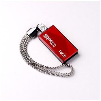 USB flash disk Silicon Power Drive Touch 810, 16GB, USB 2.0, červený