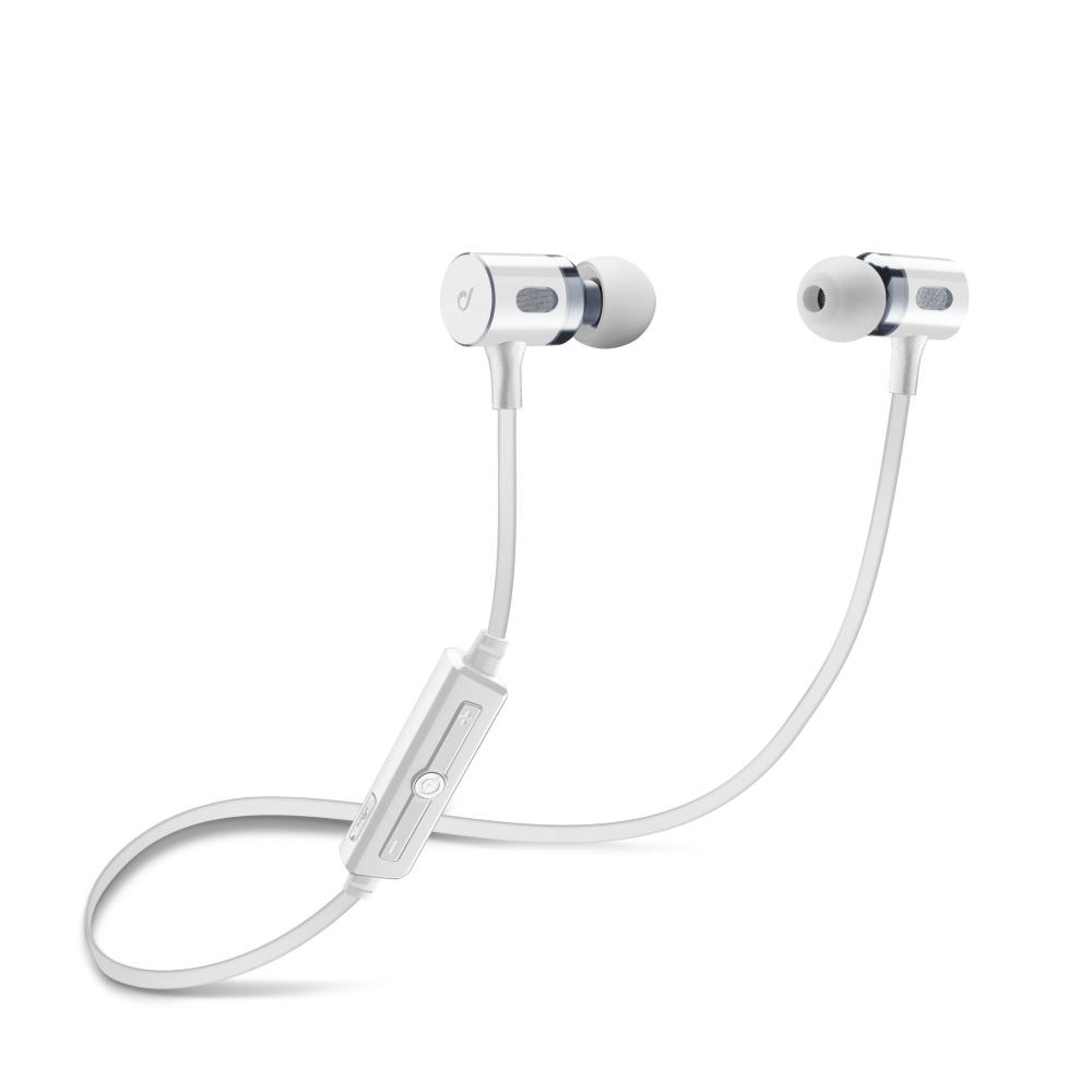 Bezdrátová In-ear stereo sluchátka Cellularline MOSQUITO, bílá