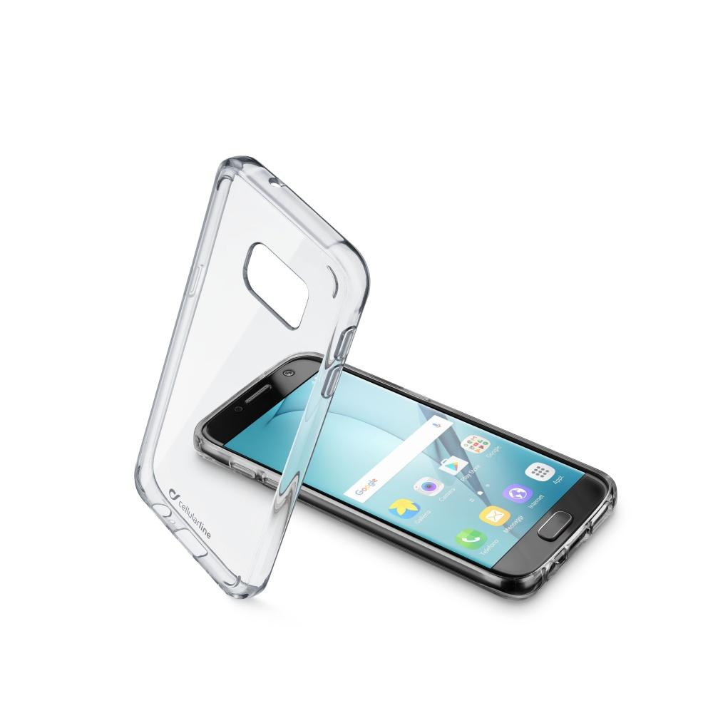 Zadní čirý kryt s ochranným rámečkem Cellularline CLEAR DUO pro Samsung Galaxy  A5 (2017)