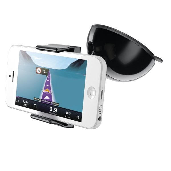 Univerzální držák s přísavkou CellularLine Crab SuperGrip 2 pro mobilní telefony a smartphony