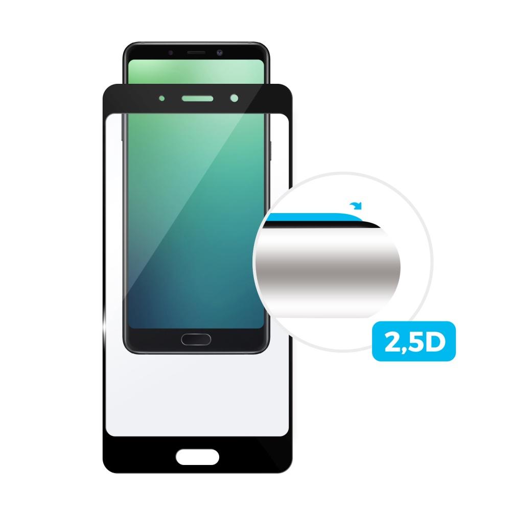Ochranné tvrzené sklo FIXED Full-Cover pro Apple iPhone 7 Plus/8 Plus, přes celý displej, černé, 0.33 mm