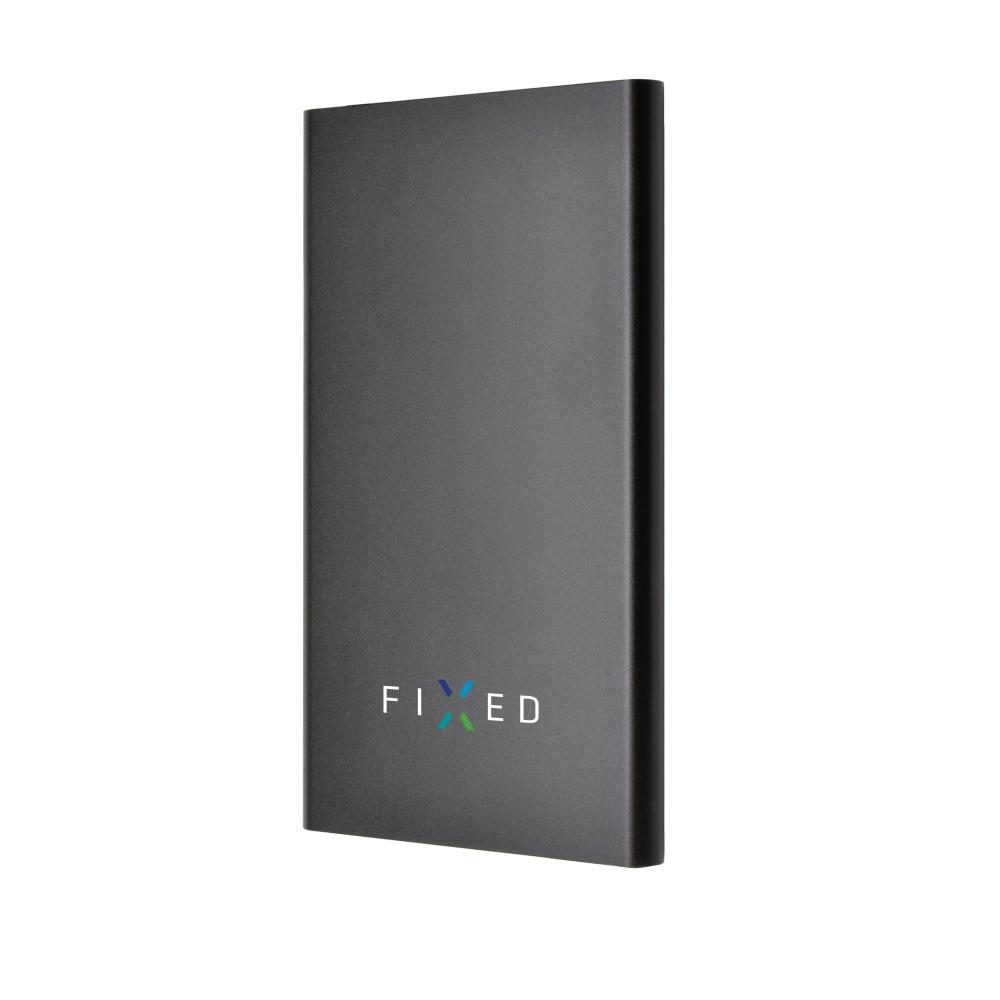 Powerbanka FIXED Zen 5000 v luxusním hliníkovém provedení, černá