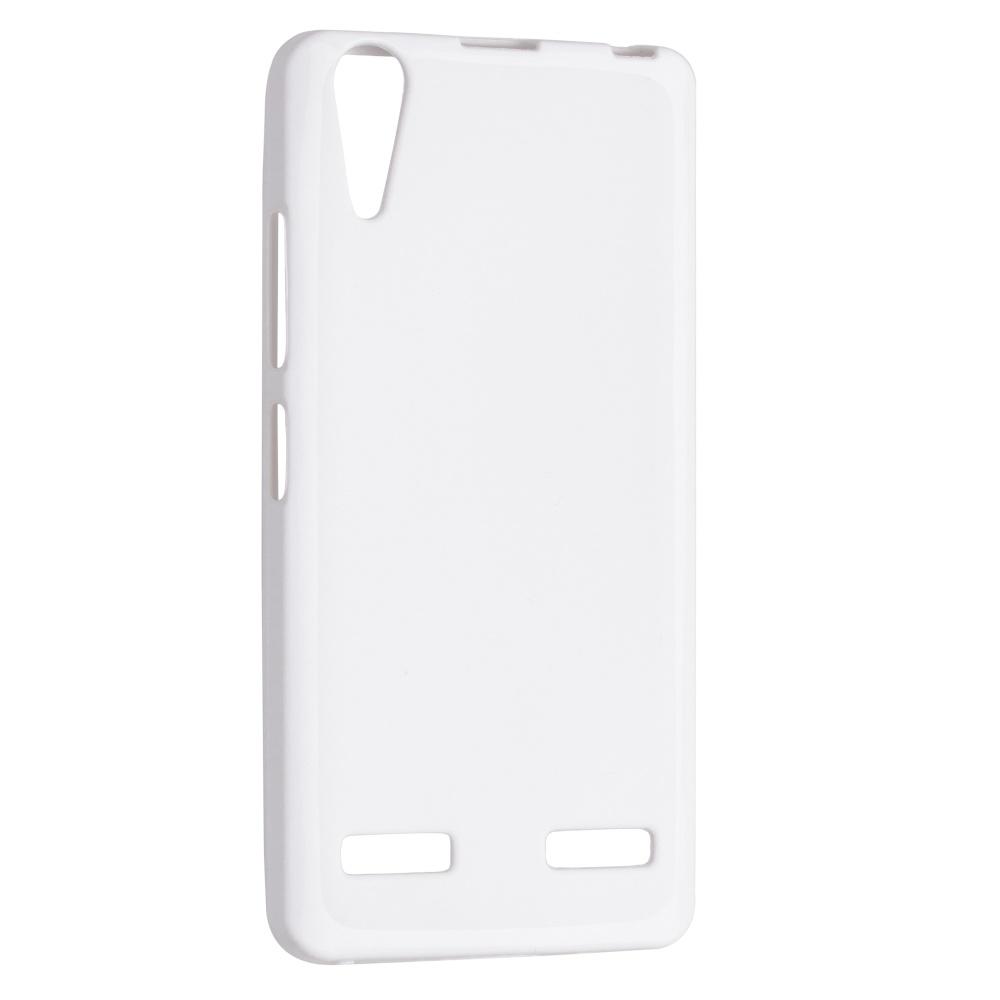 TPU gelové pouzdro FIXED pro Lenovo A6000, bílé