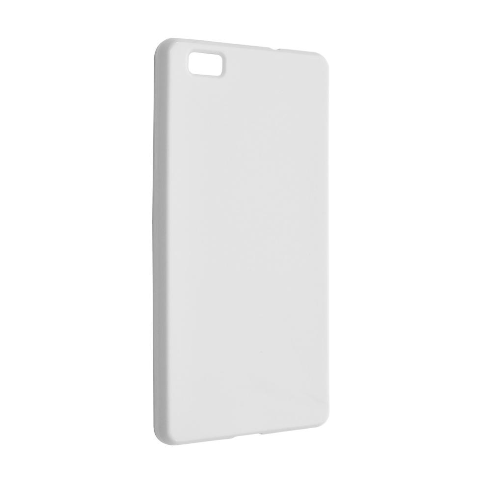 TPU gelové pouzdro FIXED pro Huawei P8 Lite, bílé