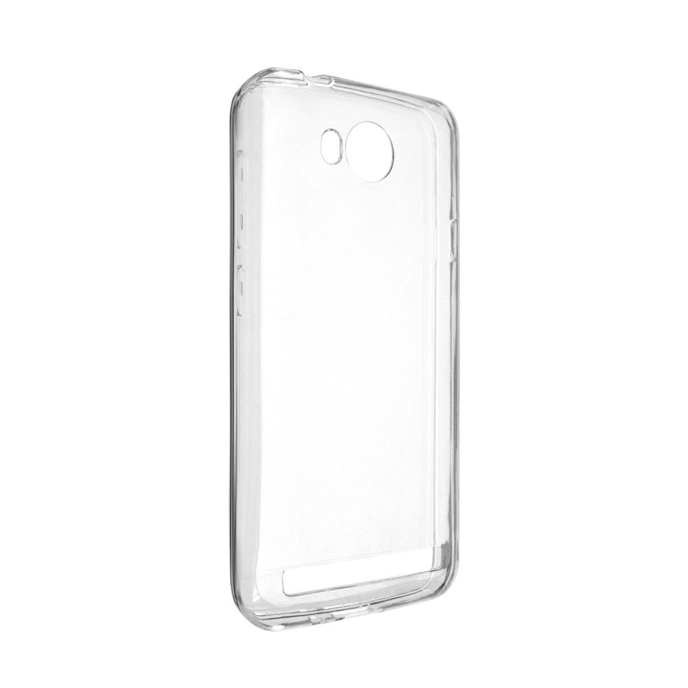 Ultratenké TPU gelové pouzdro FIXED Skin pro Huawei Y3 II, 0,6 mm, čiré