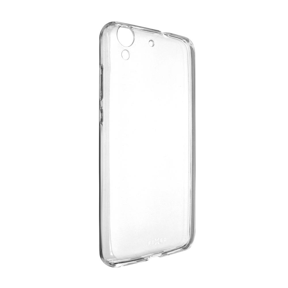 Ultratenké TPU gelové pouzdro FIXED Skin pro Huawei Y6 II, 0,6 mm, čiré