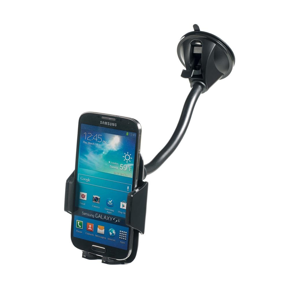 Univerzální držák s přísavkou CELLY FLEX12 pro mobilní telefony a smartphony, flexibilní rameno