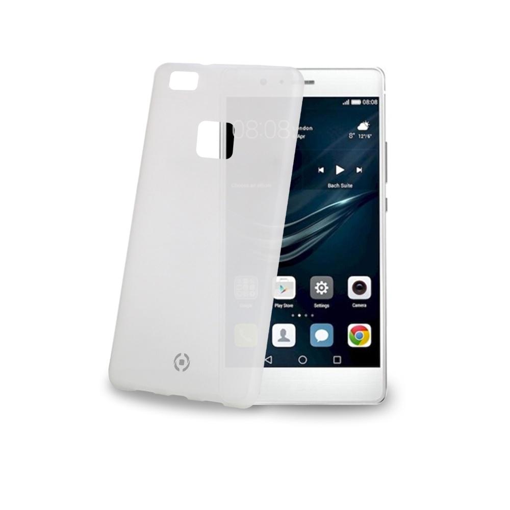 Ultra tenké TPU pouzdro CELLY Frost pro Huawei P9 Lite, 0,29 mm, bílé