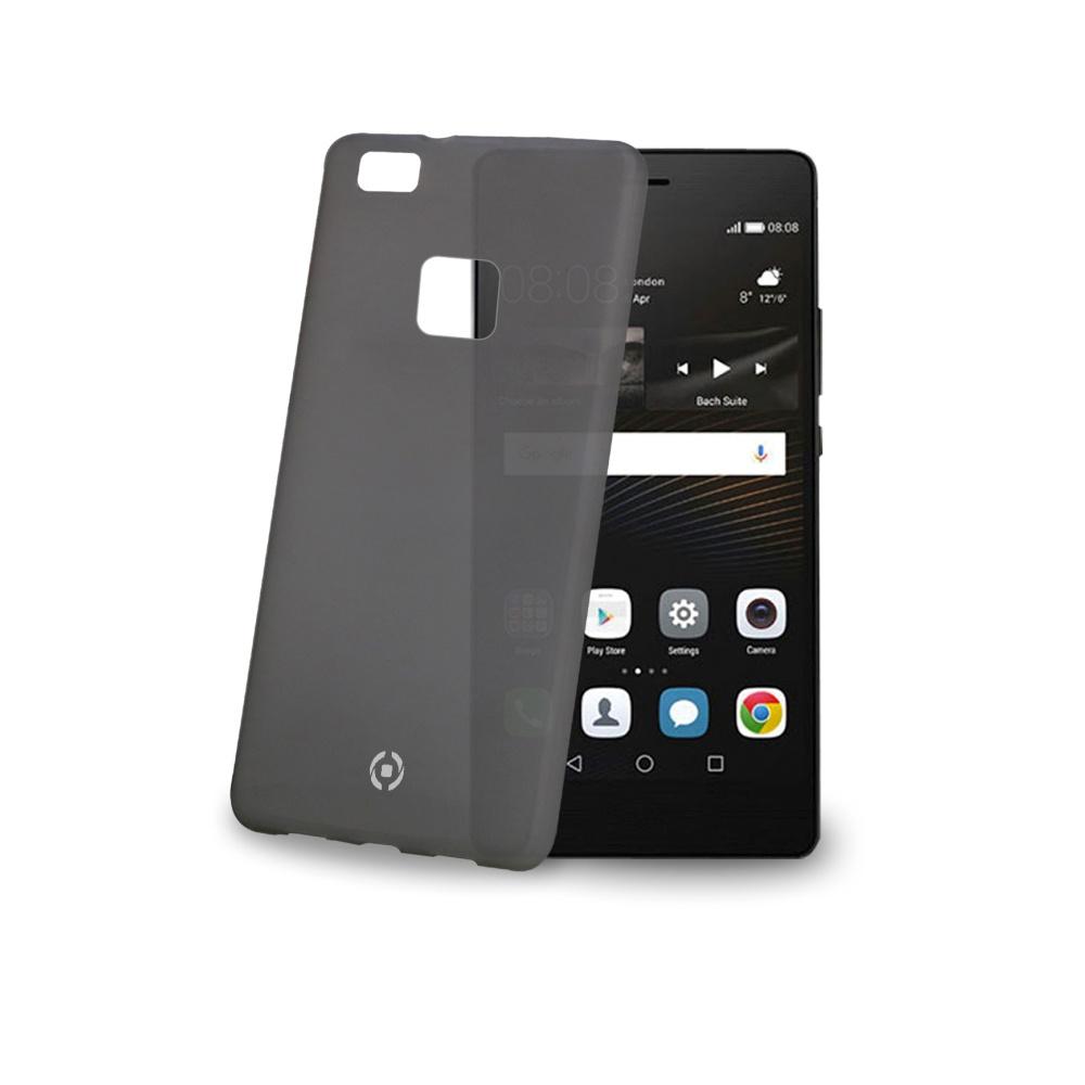 Ultra tenké TPU pouzdro CELLY Frost pro Huawei P9 Lite, 0,29 mm, černé